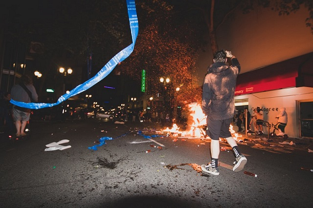ANTIFA and BLM Riots: Why Do None Dare Call Them Evil?